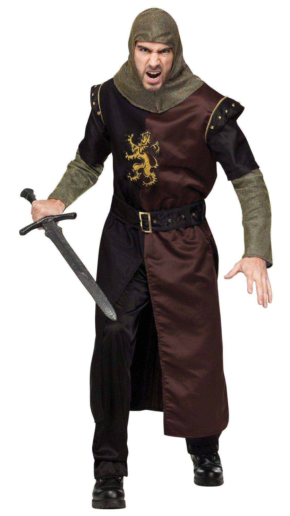 valiant knight adult costume. Black Bedroom Furniture Sets. Home Design Ideas