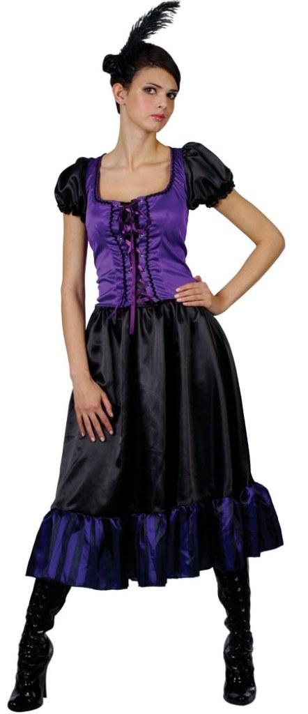 plus size saucy saloon girl costume
