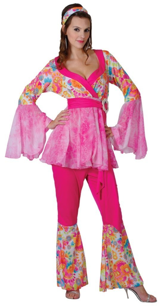 Plus Size Hippy Chick Costume