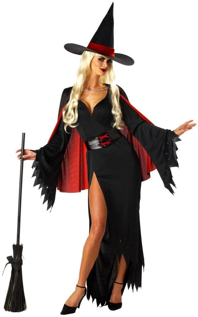костюм ведьмы своими руками с фото