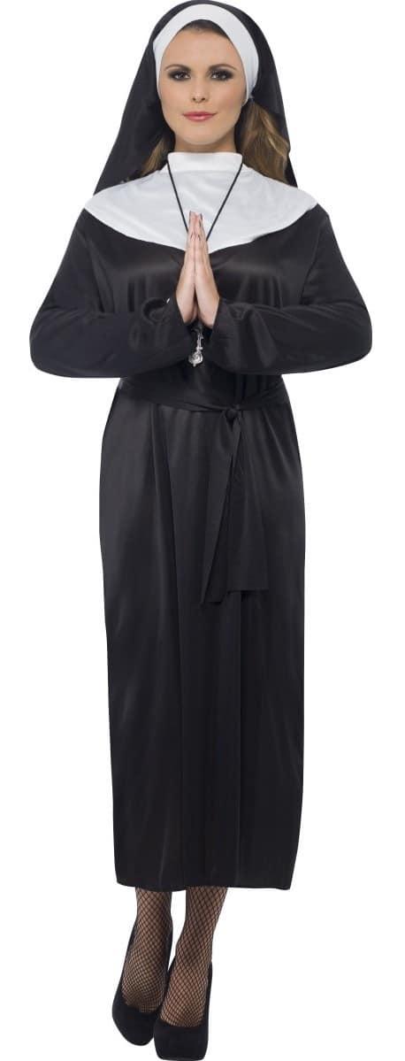 Budget Nun Fancy Dress Costume