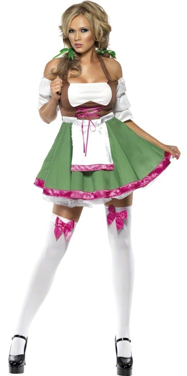 Flirty Frauline Costume
