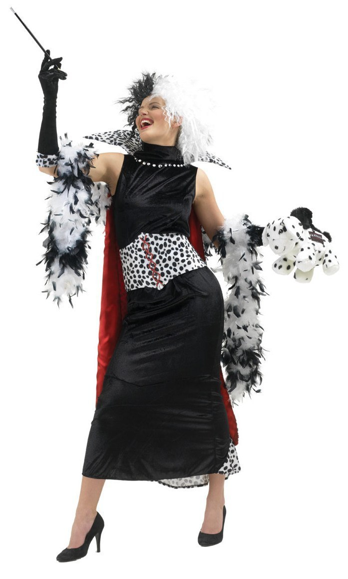 disney cruella de ville costume. Black Bedroom Furniture Sets. Home Design Ideas