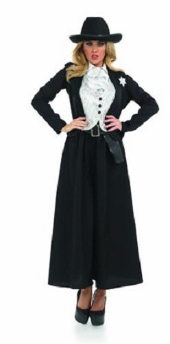 Wild West Sheriff costume ...  sc 1 st  The Costume Shop & Old Time Female Sheriff Costume
