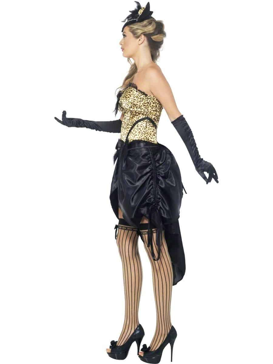 Ladies Burlesque Kitty Costume