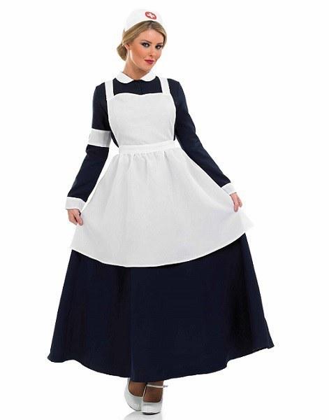 plus size victorian nurse ladies fancy dress