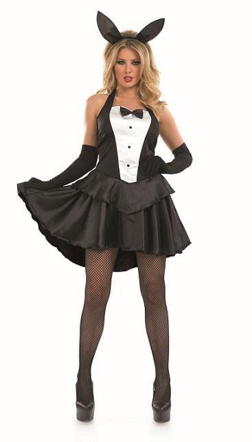 Plus Size Bunny Girl Fancy Dress Costume
