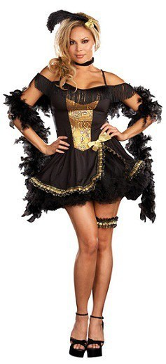 Ladies Goldie Rush Costume