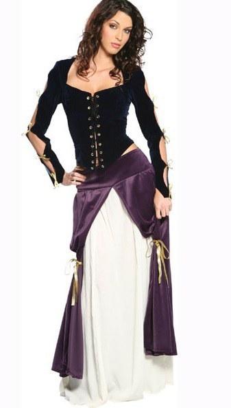 Lady Musketeer Fancy Dress Costume