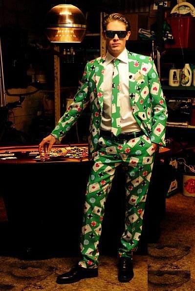 Men S Poker Face Oppo Suit
