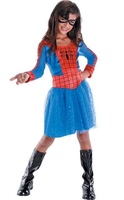 Home / Kids Costumes / Marvel Spidergirl Fancy Dress - Kid's