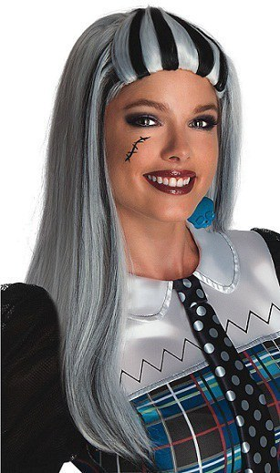 Official Monster High Frankie Stein Adult Wig
