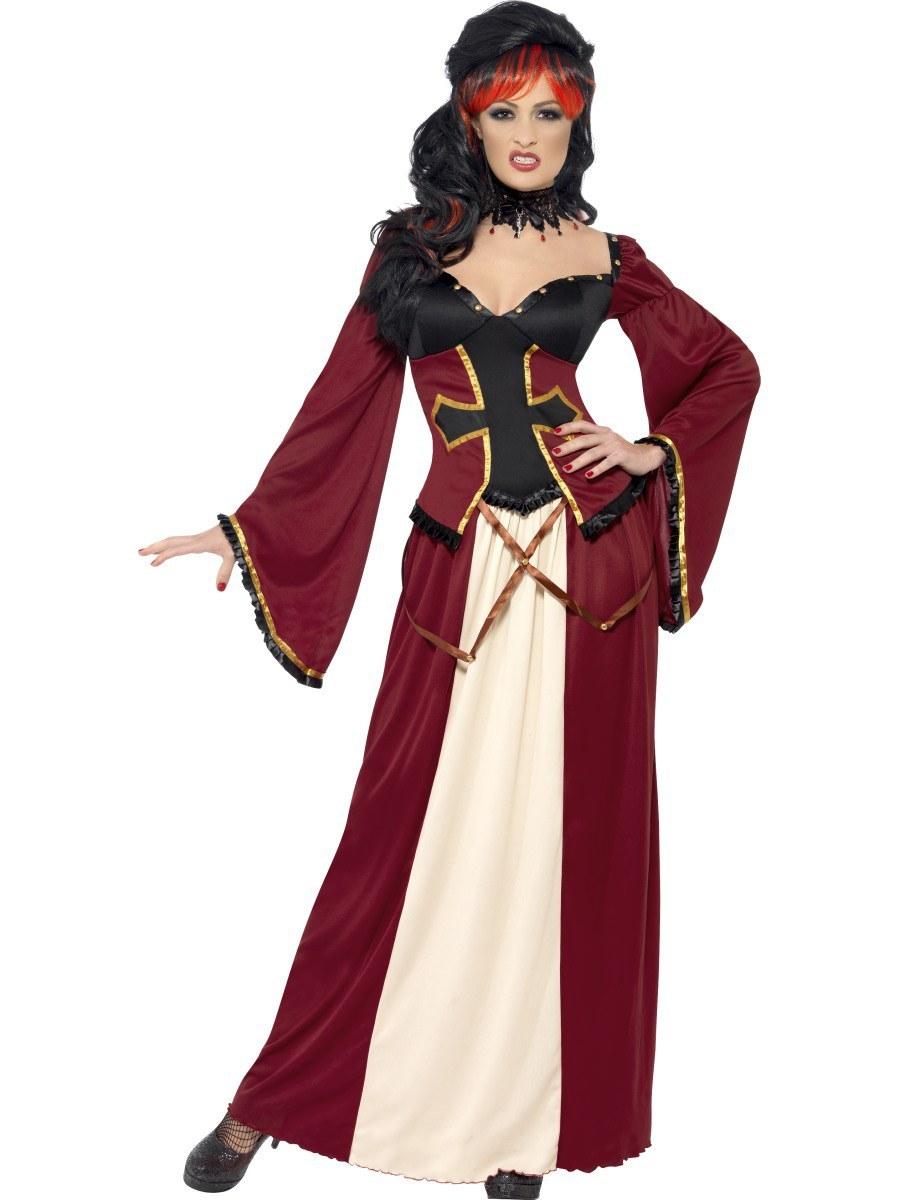 Ladies Gothic Vampiress Costume