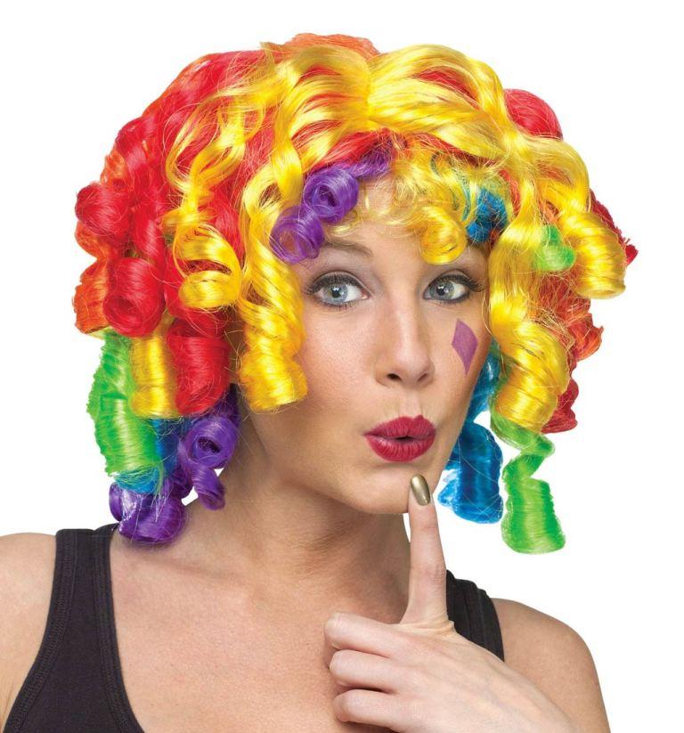 Crazy Curlz Wig Multicoloured