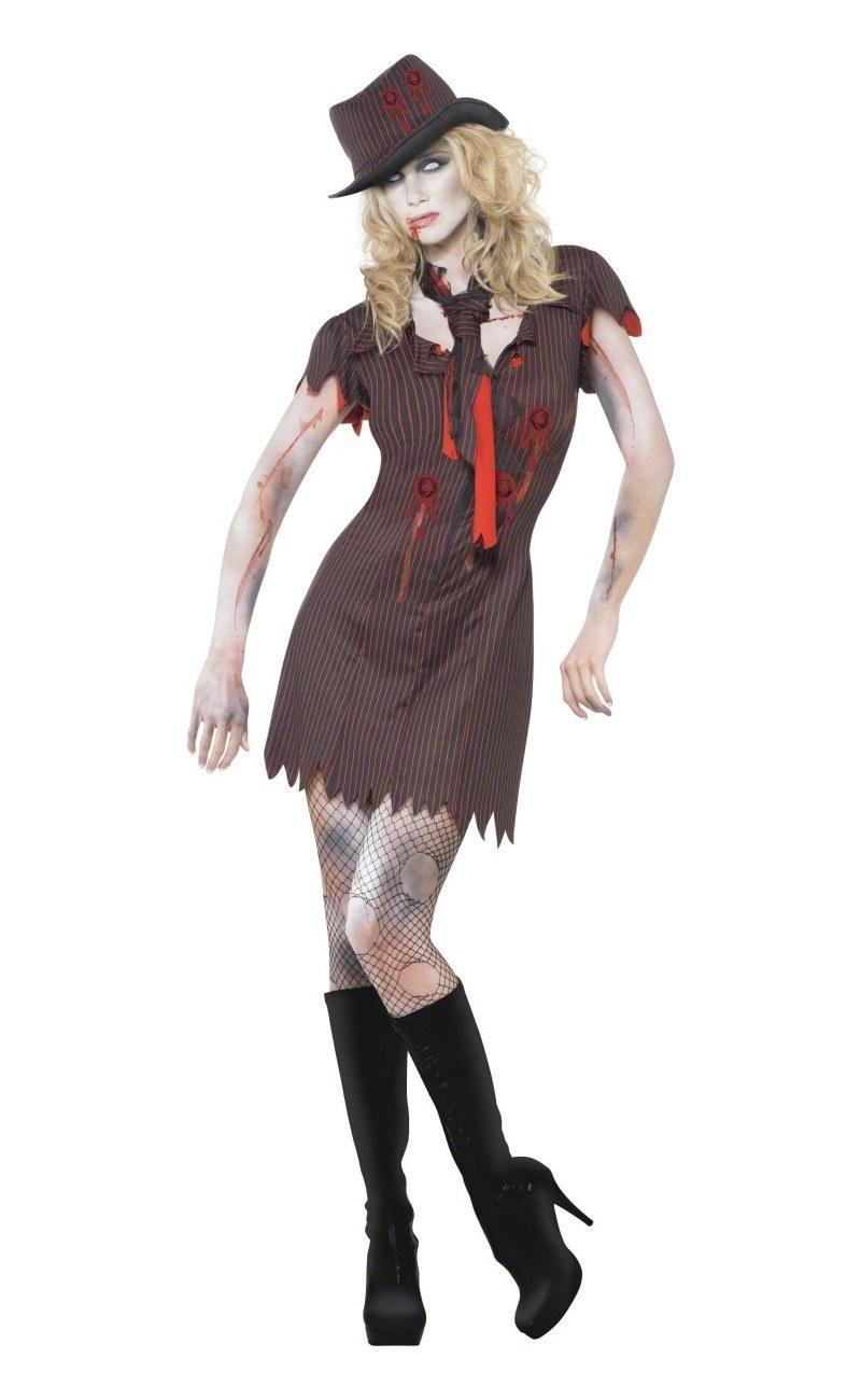 zombie gangster halloween costumes - hallowen costum udaf