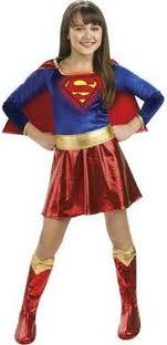 Teen Supergirl CostumeSuperwoman Costume For Teenagers