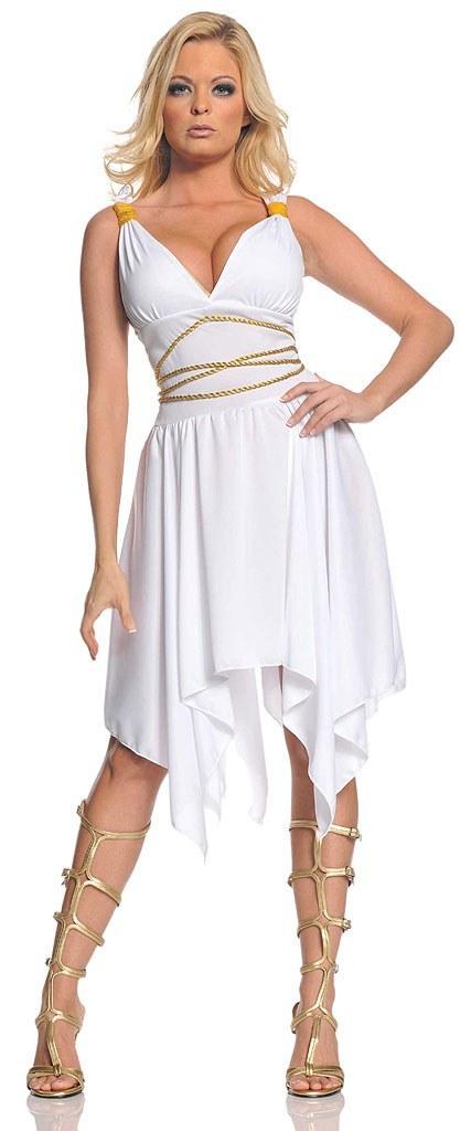 Gold Greek Goddess Costume