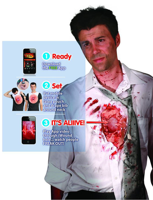 Iwound digital halloween costumes