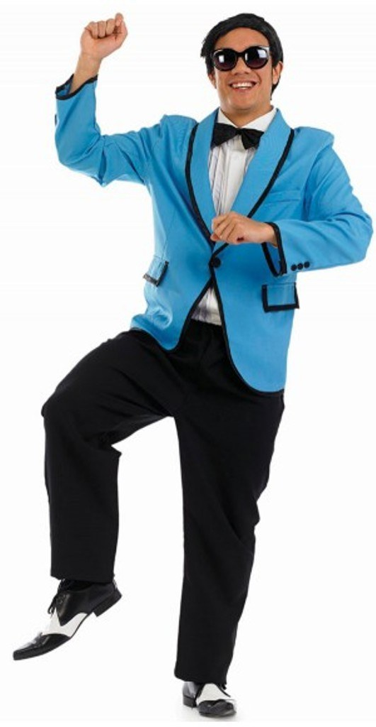 Mens Korean Dance Craze Costume