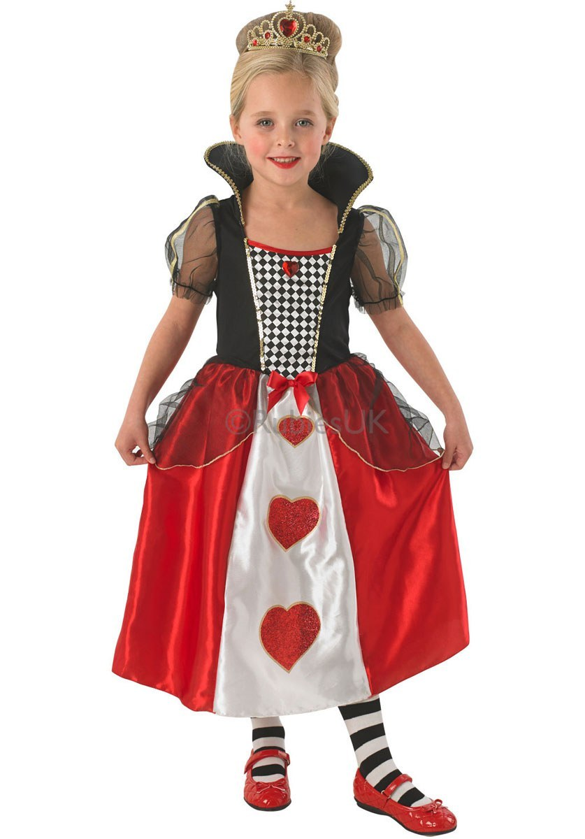 Kids Queen Of Hearts  sc 1 st  The Costume Shop & Childs Queen Of Hearts Costume