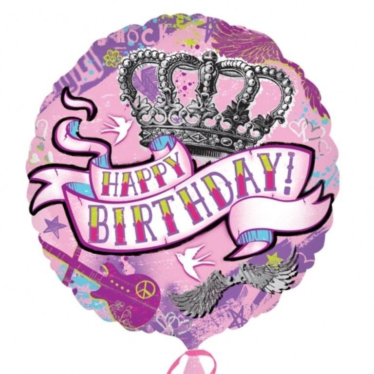 Happy Birthday Tattoo Balloon