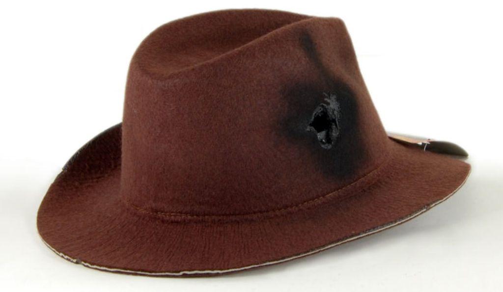 Brown Freddy Krueger Fedora Hat