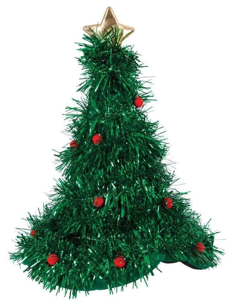Christmas Tree Tinsel.Christmas Tree Tinsel Hat