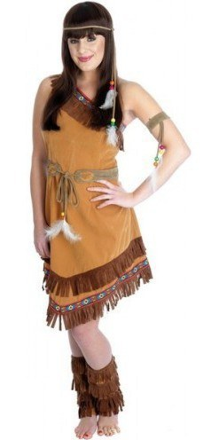 Indian squaw costume  sc 1 st  The Costume Shop & Indian Squaw Plus Size Costume