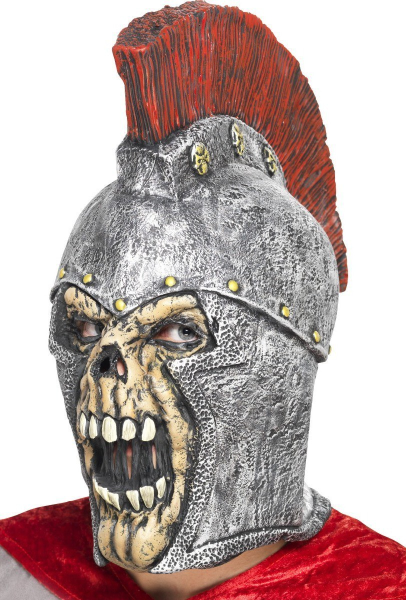 roman soldier latex skull mask