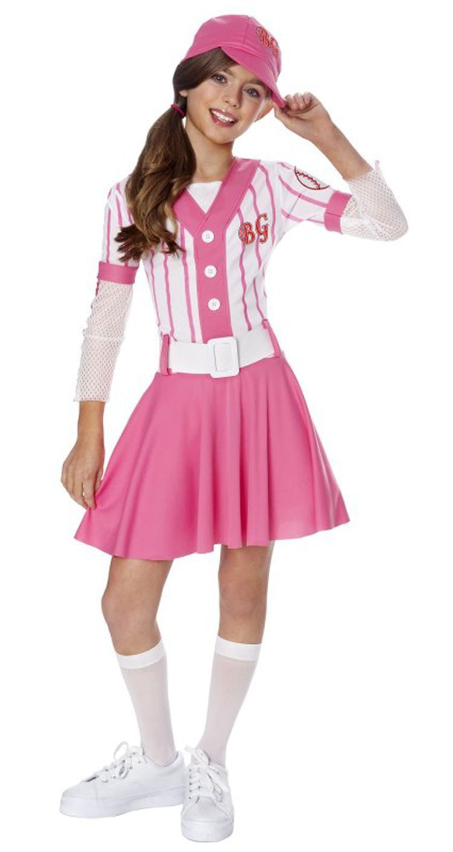 Teen Baseball Girl Costume