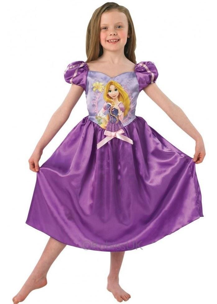 Kids Deluxe Rapunzel costume  sc 1 st  The Costume Shop & Kids Disney Rapunzel Costume