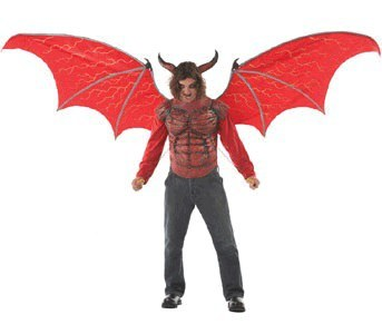 deluxe demon wings and chest piece