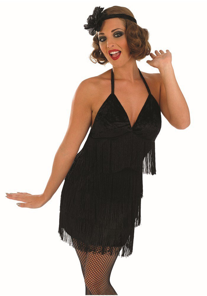 Sexy flapper girl costume