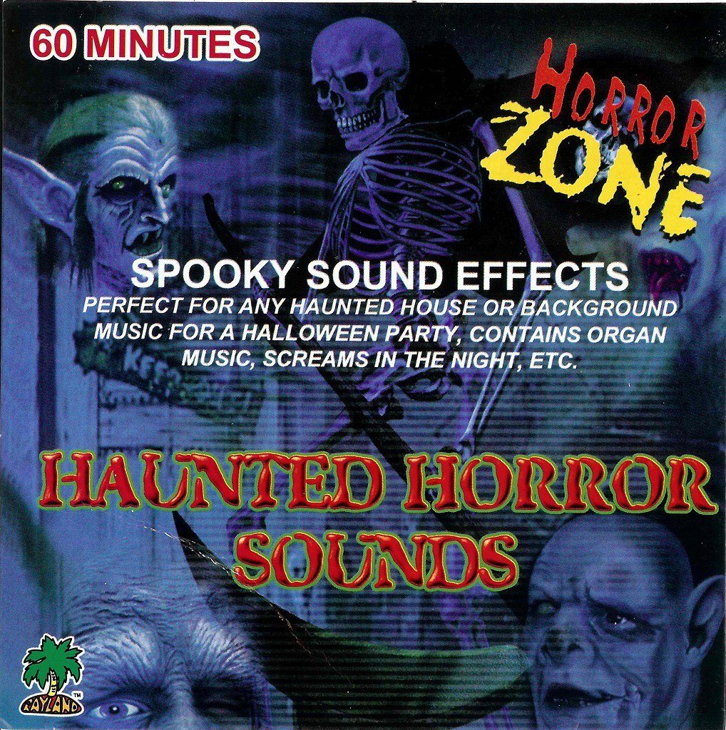 Halloween Party Sound Of Horror 60 Min Cd Scary Screams