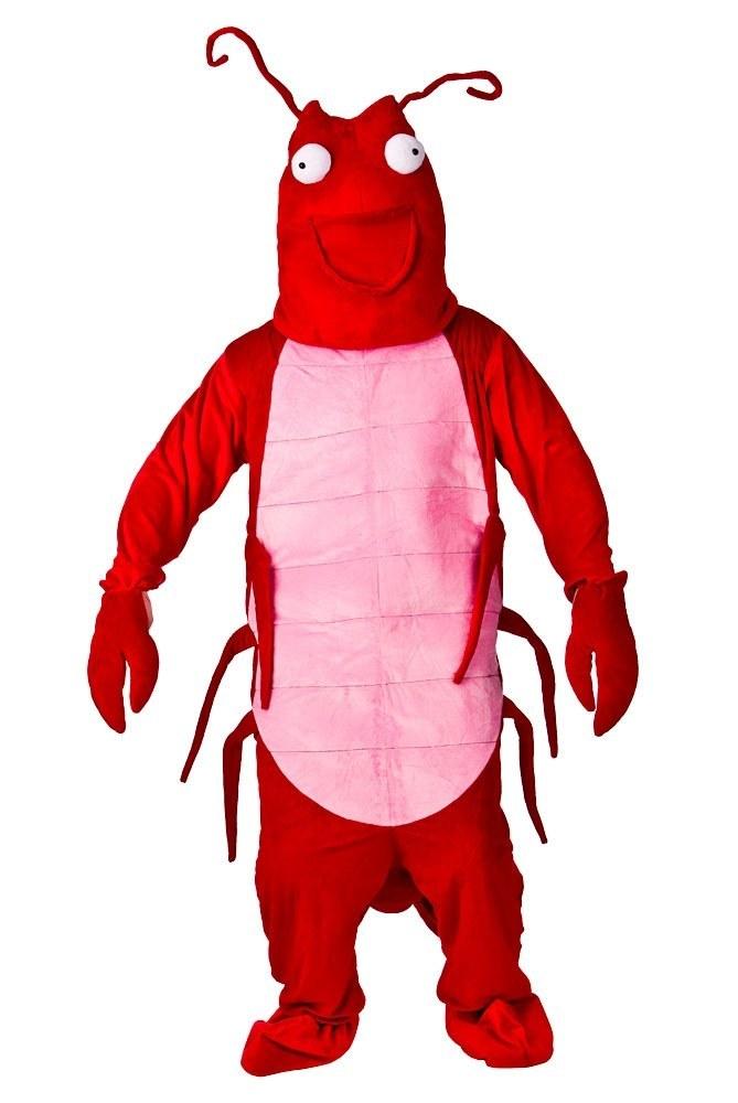 Larry Lobster Mascot