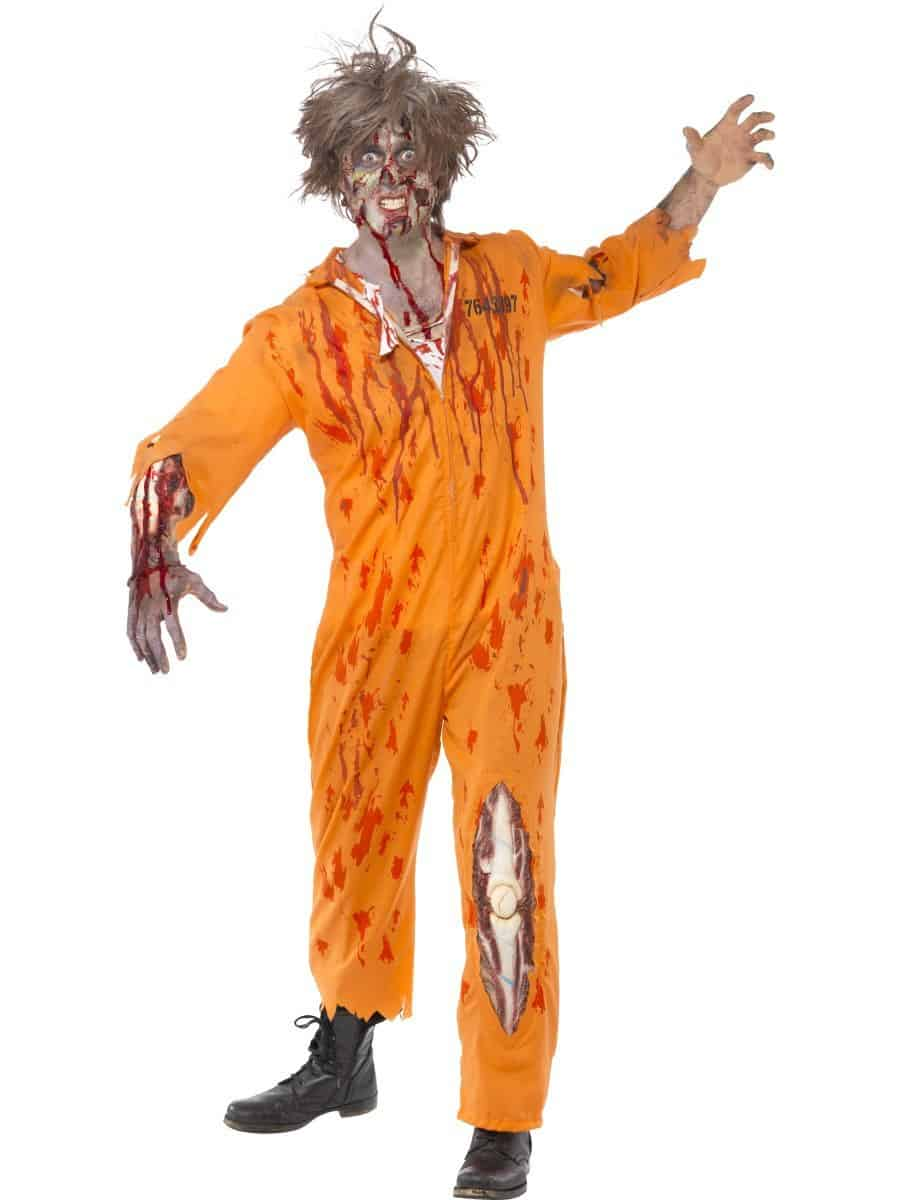 Zombie convict costume  sc 1 st  The Costume Shop & Adult Zombie Convict