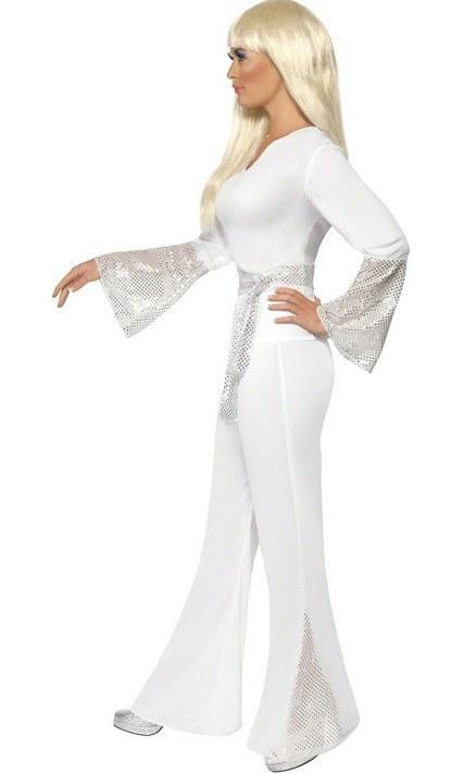70 S Disco Lady Costume Fancy Dress Costumes