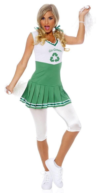 Go Green Ladies Costume