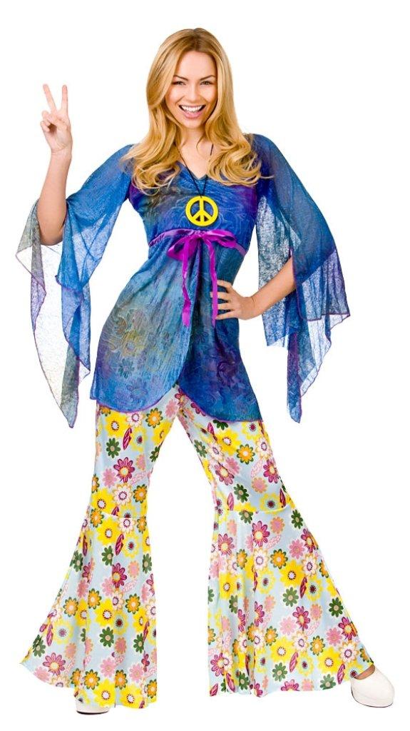 Plus Size Woodstock Hippie Costume