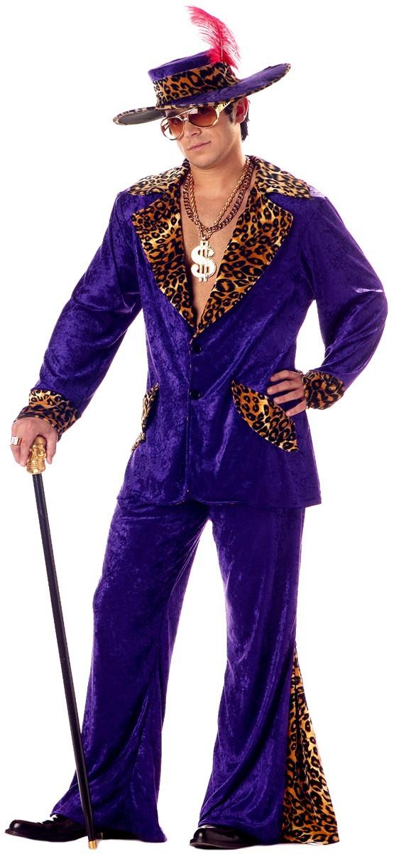 Pimp costumes pimp fancy dress costume