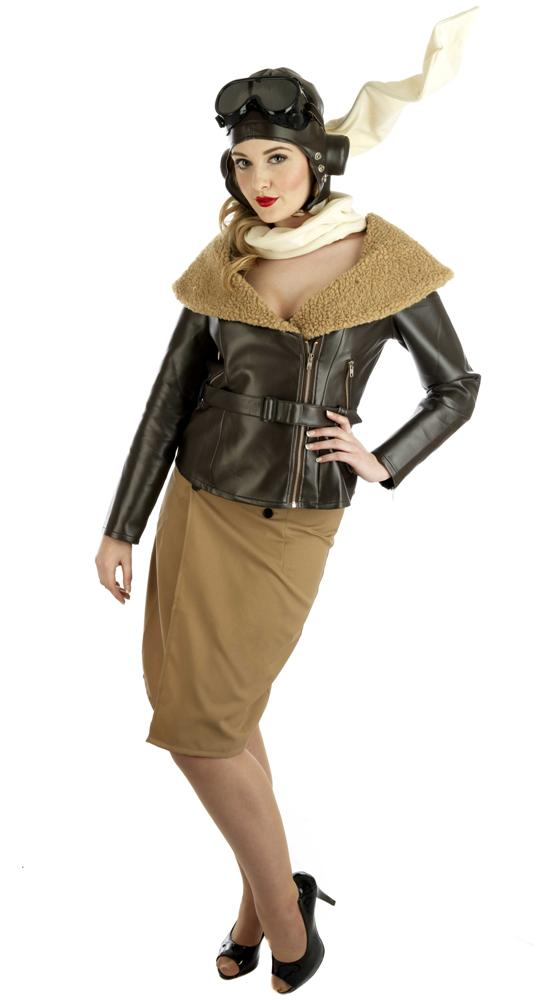 Ladies Aviator Costume