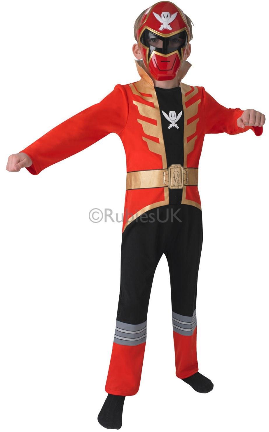Power Rangers Christmas Jumper.Red Power Ranger Mega Force