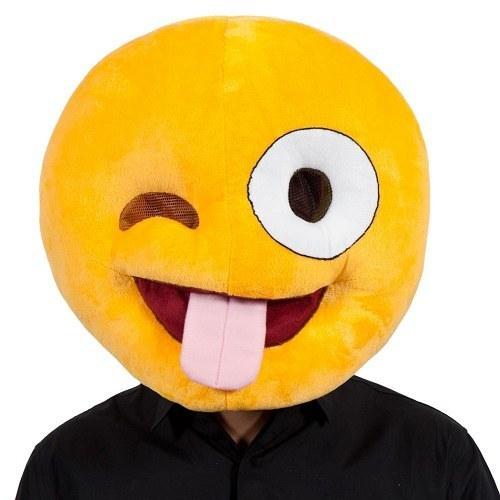 Crazy Face Emoticon Mask