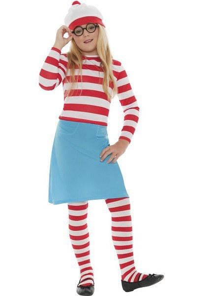 Wanda Costume  sc 1 st  The Costume Shop & Whereu0027s Wally? Wanda Costume