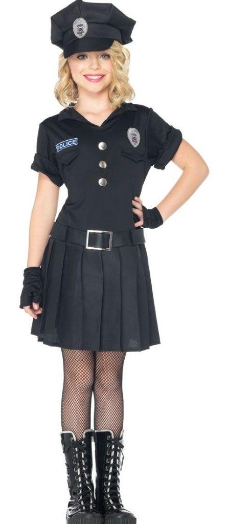 Tweens Playtime Police Costume