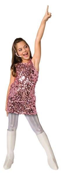 sc 1 st  The Costume Shop & Pop Star Costume - Childs