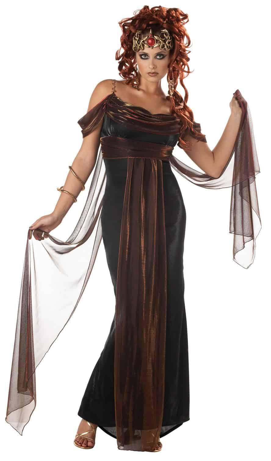 Medusa Mythical Siren Costume