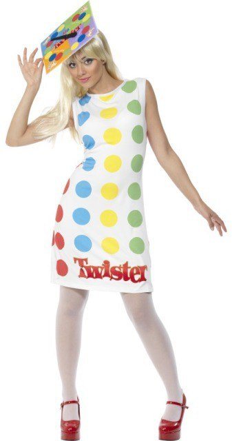 Twister Costume - Ladies fancy dress twister Costume