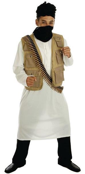 Desert Warrior Costume Taliban