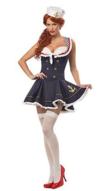 Nautical Doll Costume Retro Sailor Costume